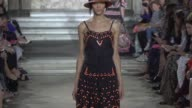 RUNWAY Temperley SS16 at One Marylebone on September 20 2015 in London England