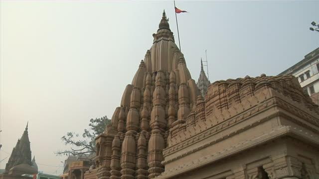 CU, LA, Temple at Varanasi, Uttar Pradesh, India
