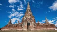 temple Chaiwatthanaram  Ayutthaya, Thailand.