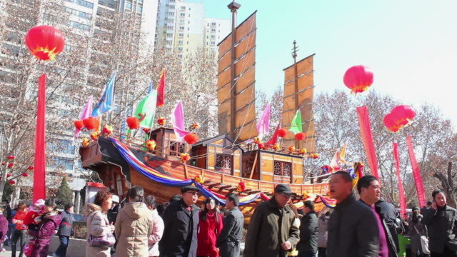 WS Temple fair During the Spring Festival/xian,shaanxi,china