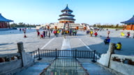 Temple of Heaven crowd timelapse
