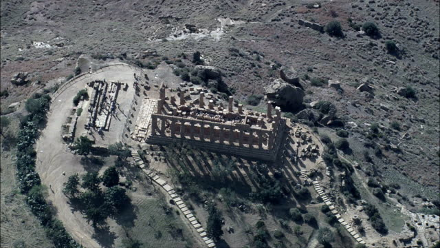 Temple Of Juno  - Aerial View - Sicily, Province of Agrigento, Agrigento, Italy