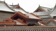 MS Temple roofs / Hohhot, Inner Mongolia, China