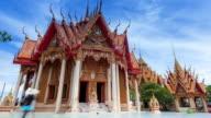 Temple Wat Tham Sua Thailand; TIME LAPSE