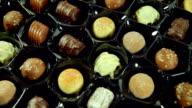 Tempting Box of Chocolates. HD