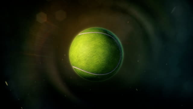Tennis Ball in Epic Lighting