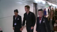 Tennis star Andy Murray flies into Heathrow after his win at the US Open accompanied by fiance Kim Sears Lengthy walking shots as Murray strides...