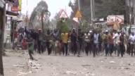 Tensions soar in Kenyan opposition leader Raila Odinga's strongholds in Nairobi