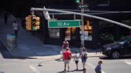 Tenth Avenue Pedestrian Crossing