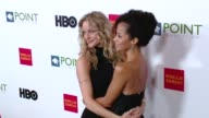 Teri Polo and Sherri Saum at the Point Foundation's Voices On Point Gala at the Hyatt Regency Century Plaza on October 03 2015 in Century City...
