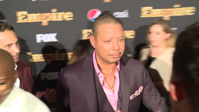 INTERVIEW Terrence Howard at EMPIRE Season Two Premiere at Carnegie Hall on September 12 2015 in New York City