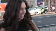 Terri Seymour greets fans while arriving at the Arrested Development Season 4 Premiere in Hollywood 04/29/13
