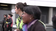 Terror in Brussels Sky Correspondent Alex Rossi Was At The Scene When The Attacks Happened Showing Exterior shots People evacuating airport after...