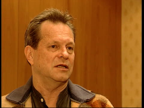 Terry Gilliam interview SOT I've just got 2 million from the Arts council to make a very specific film / Britain looks at the world in different ways...