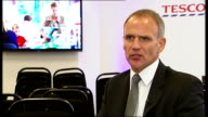 Tesco Chief Executive interview Lewis interview SOT