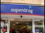 Tesco /Adidas deal LIB Superdrug store
