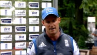 Test career of Kevin Pietersen in doubt after text message row Lords Close Shot Andrew Strauss' hands TILT UP Mobile phone showing Strauss Andrew...