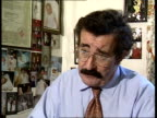Test tube controversy INT London Hammersmith Hospital Professor Robert Winston intvw SOT If payments are made women may neglect consequences of egg...
