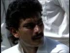 ENGLAND Headingley England v India One Day International Indian team posing