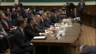 Texas Congressman Michael Burgess opens a hearing of his subcommittee of the House Energy and Commerce Committee inquiry into online sports betting...