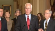 Texas Senator John Cornyn describes a hearing of the Senate Judiciary Committee earlier in the day about heroin and prescription drug abuse says that...