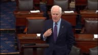 Texas Senator John Cornyn says on the floor days before the inauguration that one principle of replacing the affordable care act is to empower small...