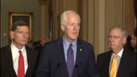 Texas Senator John Cornyn says that any day a nominee could be named by the White House to be a Justice to the Supreme Court wondering who would want...