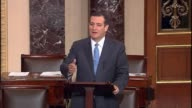 Texas Senator Ted Cruz argues that the Obama administration is not focusing resources on immigration enforcement rather releasing criminals back into...