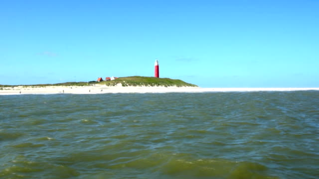Texel Island on North Sea Netherlands