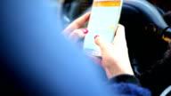 SMS während der Fahrt
