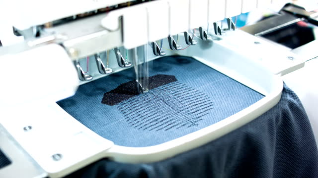 Textil-Stickerei machine