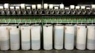 Textile Factory - Spinning, Yarn Production