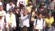 Thai anti government protesters vow to keep up their fight to overthrow Prime Minister Yingluck Shinawatra despite her decision to call an election...