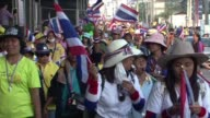 Thai antigovernment protesters vow to keep up their fight to overthrow Prime Minister Yingluck Shinawatra despite her decision to call an election to...