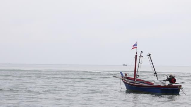 Thai Fishing Boat on sea