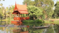 Thai house and pavilion.