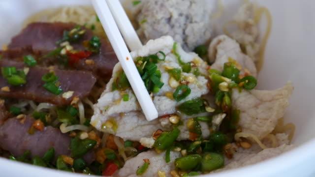 Thai noodle soep, resolutie van 4 k UHD