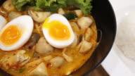Thai noodle soup , 4k
