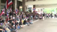 Thai opposition demonstrators storm the finance ministry and threaten to seize more government buildings in a dramatic escalation of their efforts to...
