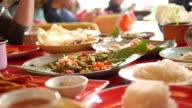 Thai-Restaurant für das Mittagessen