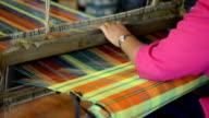 Thai Silk making