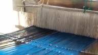 Thai traditionelle Weberei Ausrüstung zu thai Tücher