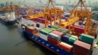Thailand Docks , Aerial