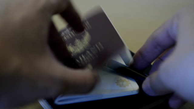 Thailand passport and map