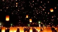 Thailand's fiery sky lanterns