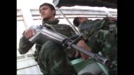 Thailands government signs its first ever agreement with a rebel group in its Muslim majority south CLEAN Thailand rebel group on February 28 2013 in...