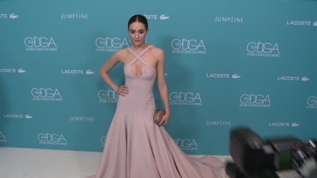 CHYRON The 17th Costume Designers Guild Awards in Los Angeles CA