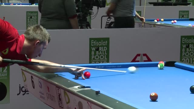 The 2012 World 8ball pool championship began on Monday in the United Arab Emirates state of Fujairah which is hosting the competition for the seventh...
