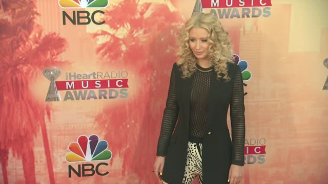 CLEAN the 2015 iHeartRadio Music Awards Red Carpet Arrivals at The Shrine Auditorium on March 29 2015 in Los Angeles California