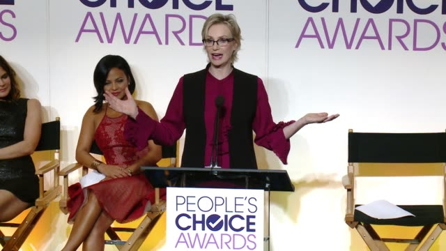 CLEAN The 2016 People's Choice Awards Nominations Announcement at The Paley Center for Media on November 03 2015 in Beverly Hills California